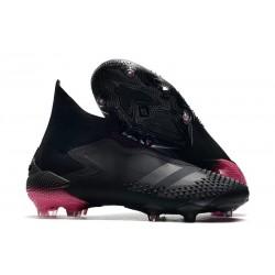 Fotbollsskor Adidas Predator 20+ Mutator FG Dark Motion - Svart Rosa