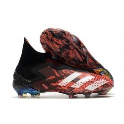 Fotbollsskor för Herr Adidas Predator 20+ Mutator FG Svart Vit Röd