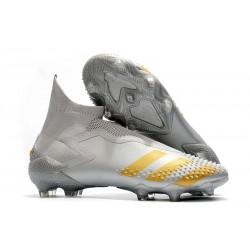 Fotbollsskor för Herr Adidas Predator 20+ Mutator FG Grå Guld