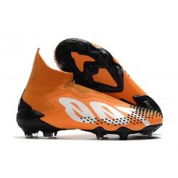 Fotbollsskor för Herr Adidas Predator 20+ Mutator FG Orange Vit Svart