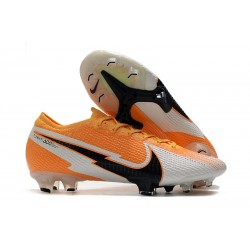 Fotbollsskor Nike Mercurial Vapor XIII Elite FG Orange Svart Vit