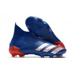 Fotbollsskor för Herr Adidas Predator 20+ Mutator FG Tormentor - Blå Vit Röd