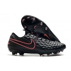 Nike Fotbollsskor för Män Tiempo Legend VIII Elite FG Svart Rosa