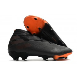 adidas Fotbollsskor Nemeziz 19+ FG Dark Motion - Svart Orange