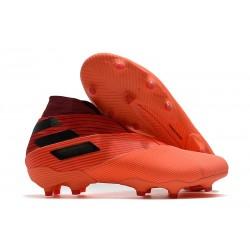 adidas Fotbollsskor Nemeziz 19+ FG Inflight - Orange Svart Röd