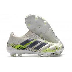 adidas Fotbollsskor för Män Copa 20.1 FG Vit Svart Grön
