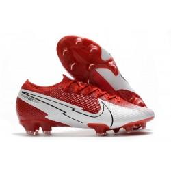 Fotbollsskor Nike Mercurial Vapor XIII Elite FG Röd Vit
