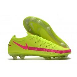 Fotbollsskor för Herrar Nike Phantom GT Elite FG Gul Rosa