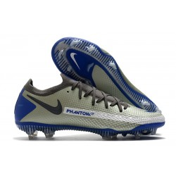 Fotbollsskor för Herrar Nike Phantom GT Elite FG Blå Grå Grå