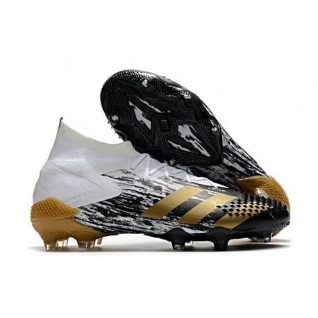 Adidas Predator Mutator 20.1 FG Inflight - Vit Guld Svart