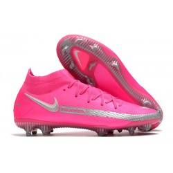 Nike Phantom Generative Texture Elite DF FG Rosa Silver