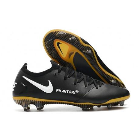 Nike Phantom Gt Elite Fg Tech Craft Fotbollsskor Svart Guld