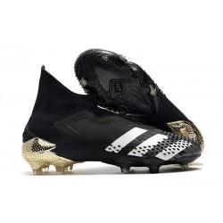 Fotbollsskor Adidas Predator 20+ Mutator FG Svart Guld Vit