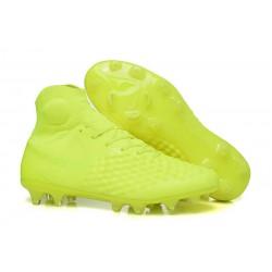 Nike Magista Obra 2 Elite DF FG Herr Fotbollsskon - Gul