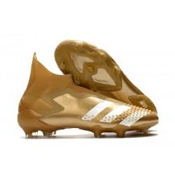 Adidas Predator 20+ Mutator FG Guld Vit