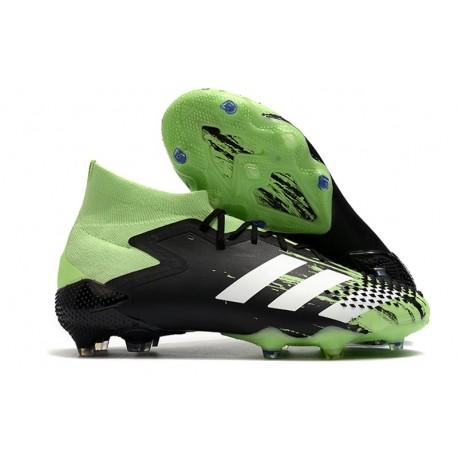 Adidas Predator Mutator 20.1 FG Svart Vert Vit