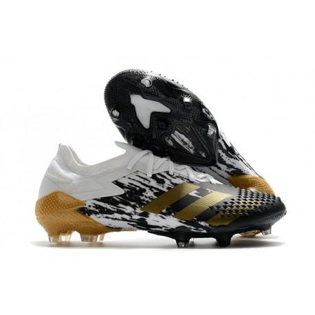 Fotbollsskor Adidas Predator Mutator 20.1 L FG Inflight Vit Guld Svart