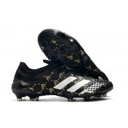 Fotbollsskor Adidas Predator Mutator 20.1 L FG Paul Pogba Svart Grå