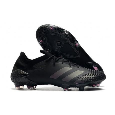 Fotbollsskor Adidas Predator Mutator 20.1 L FG Svart
