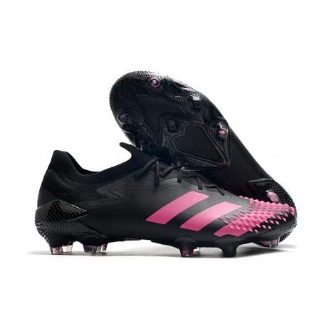 Fotbollsskor Adidas Predator Mutator 20.1 L FG Svart Rosa