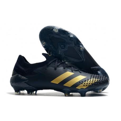 Fotbollsskor Adidas Predator Mutator 20.1 L FG Svart Guld