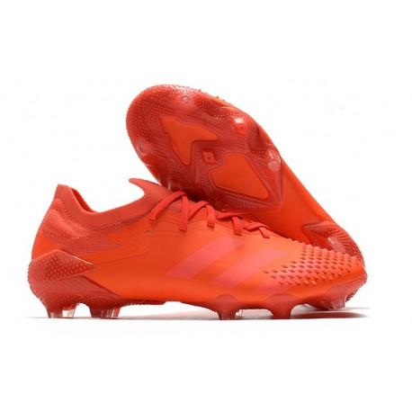 Fotbollsskor Adidas Predator Mutator 20.1 L FG Röd