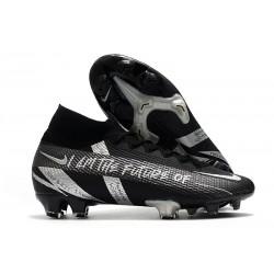 Nike Mercurial Superfly 7 Elite DF FG Future Svart Silver
