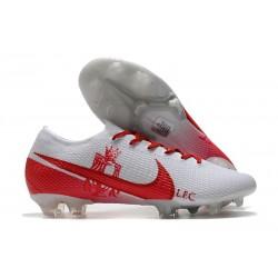 Nike Fotbollsskor Mercurial Vapor 13 Elite FG ACC LFC Vit Röd