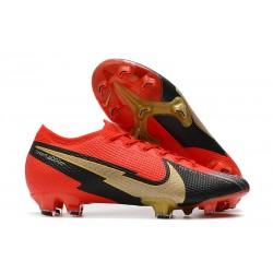 Nike Fotbollsskor Mercurial Vapor 13 Elite FG ACC Röd Svart Guld