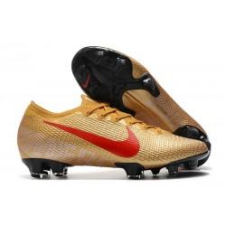 Nike Fotbollsskor Mercurial Vapor 13 Elite FG ACC Guld Röd
