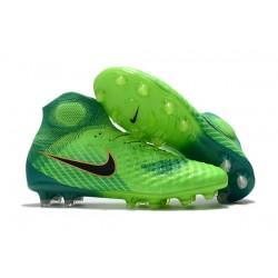 Nike Magista Obra 2 Elite DF FG Herr Fotbollsskon - Grön Blå