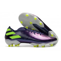 Fotbollsskor för Herrar adidas Nemeziz 19.1 FG Lila Grön