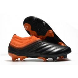 Fotbollsskor adidas Copa 20+ FG/AG Precision To Blur - Svart Orange