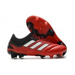 adidas Fotbollsskor för Män Copa 20.1 FG Röd Svart Vita