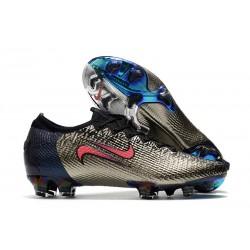 Nike Fotbollsskor Mercurial Vapor 13 Elite FG ACC Silver Röd