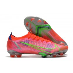 Nike Mercurial Vapor 14 Elite FG Fotbollsskor Spectrum - Röd Silver