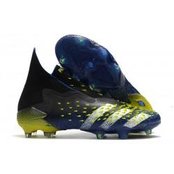 Fotbollsskor adidas Predator Freak + FG Superlative - Svart Vit Gul