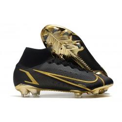 Fotbollsskor Nike Mercurial Superfly 8 Elite FG Svart Guld