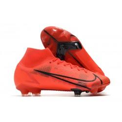 Fotbollsskor Nike Mercurial Superfly 8 Elite FG Röd Svart