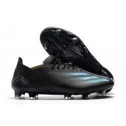 adidas X Ghosted.1 FG fotbollsskor Svart Blå