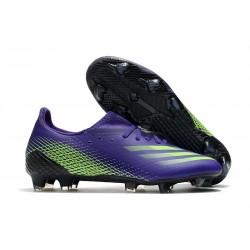 adidas X Ghosted.1 FG fotbollsskor Lila Grön