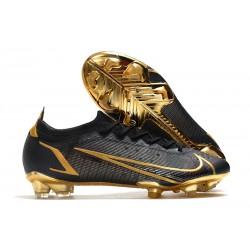 Nike Mercurial Vapor 14 Elite FG Fotbollsskor Svart Guld