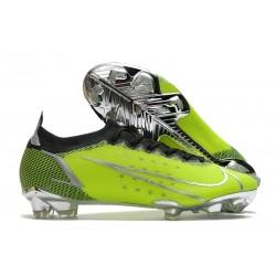 Nike Mercurial Vapor 14 Elite FG Fotbollsskor Grön Silver Svart