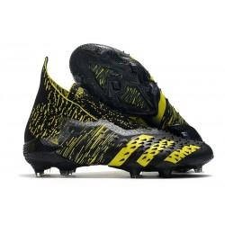 Fotbollsskor adidas Predator Freak + FG Svart Gul