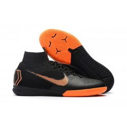 Nike Fotbollsskor Mercurial SuperflyX 6 Elite IC Herr - Svart Orange