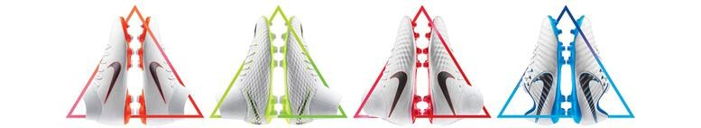 Nya nike fotbollsskor med strumpa